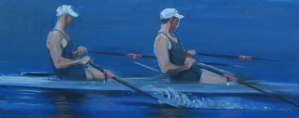 Rowers III (unfinished)